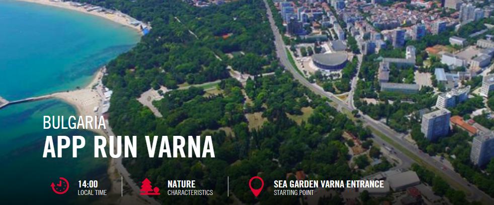 Wings for Life App Run Varna