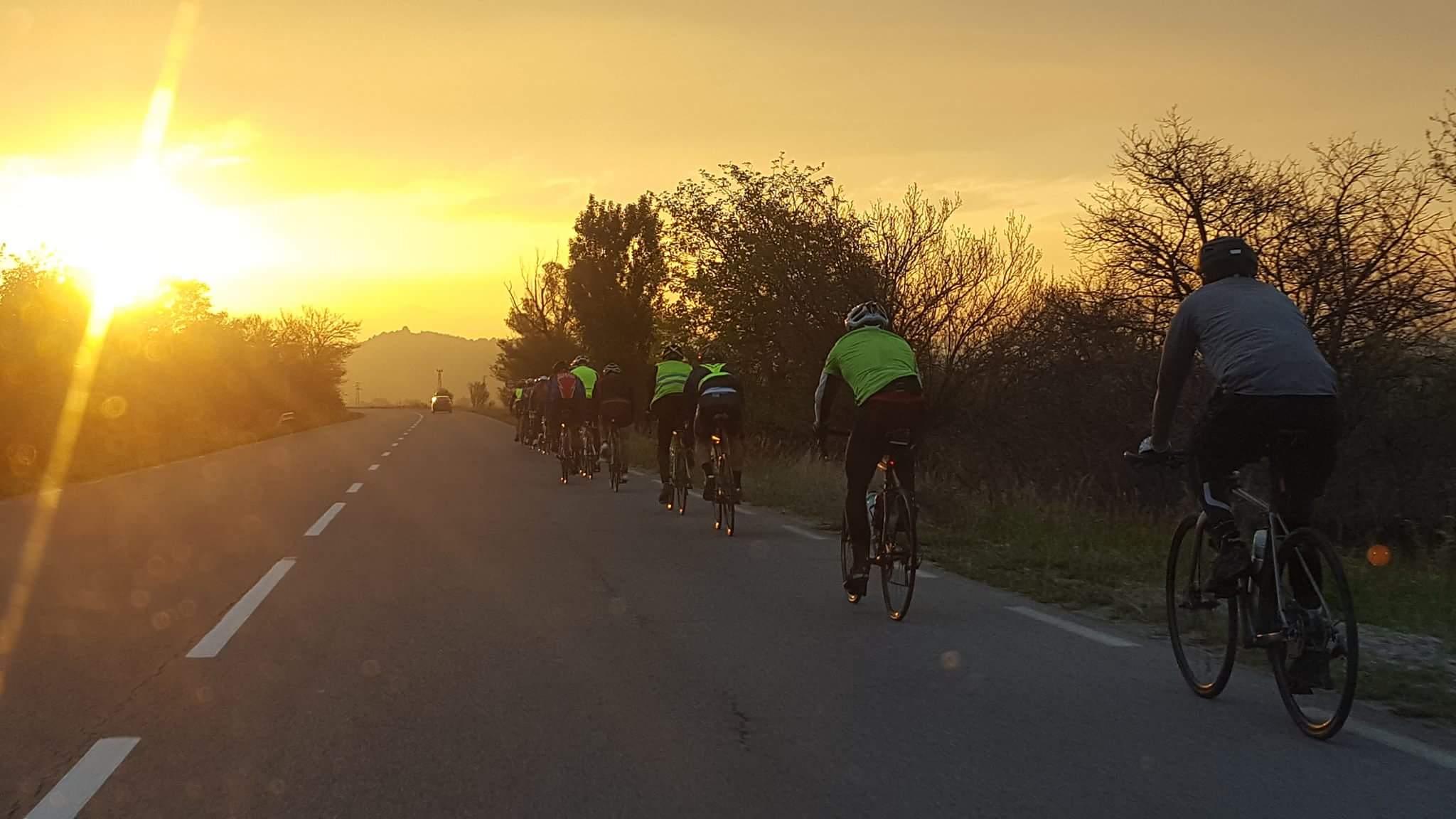 Снимка: Велоразходка