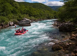 Рафтинг по река Тара