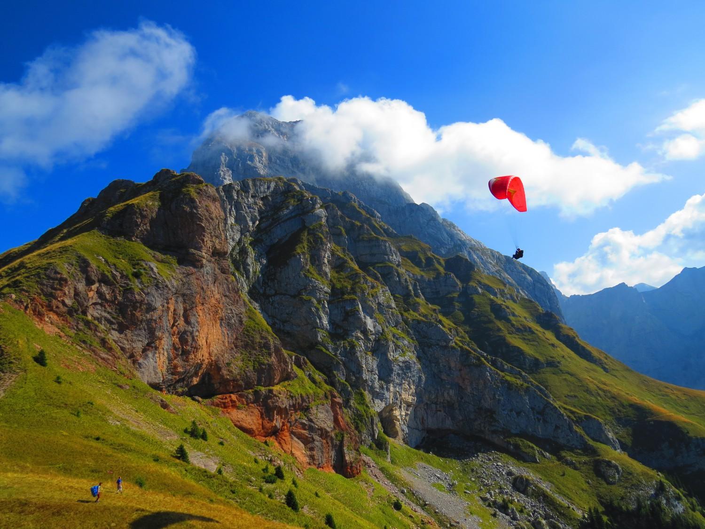 връх Мангарт снимка: Ира Кюрпанова