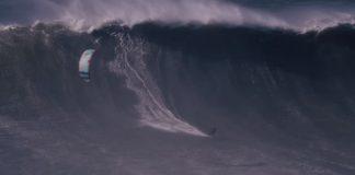 Най-голямата вълна, карана с кайтсърф