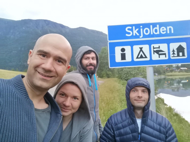 С каяк през най дългия фиорд в Европа