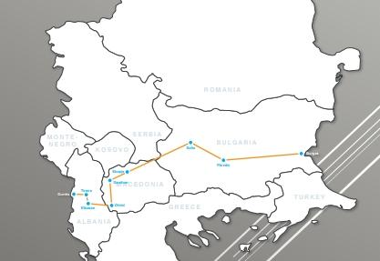Ултрамаратон през България, Северна Македония и Албания