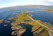 Атлантическият път в Норвегия