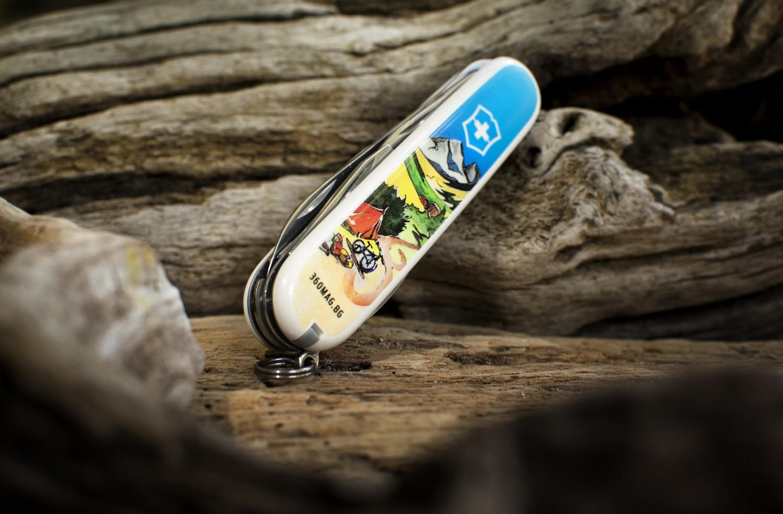 дизайнерски ножчета на 360° и Victorinox.