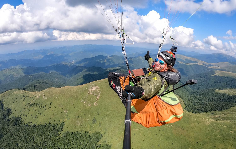 Антоан Жирар над Стара планина снимка: Теодора Величкова