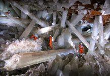 Кристалната пещера в Мексико