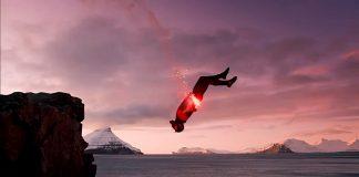 скок скали фарьорски острови
