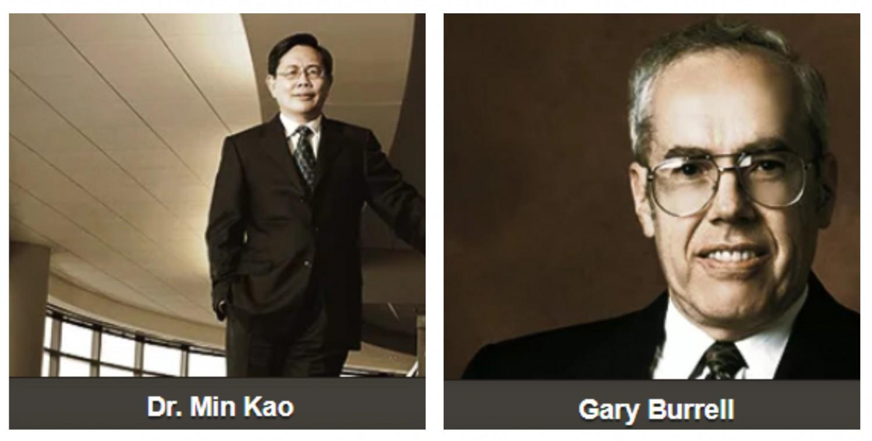 Gary Burrell and Min Kao