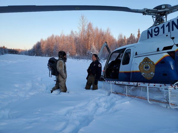 Кадър: Courtesy Alaska Department of Public Safety/Alaska State Troopers