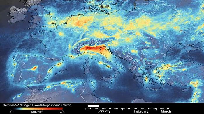 Европа през Януари 2020 г., преди епидемията от Коронавирус