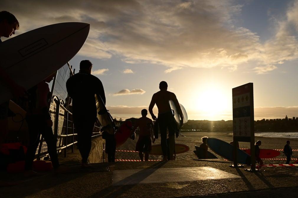 Бонди отваря за сърфисти Joel Carrett/EPA