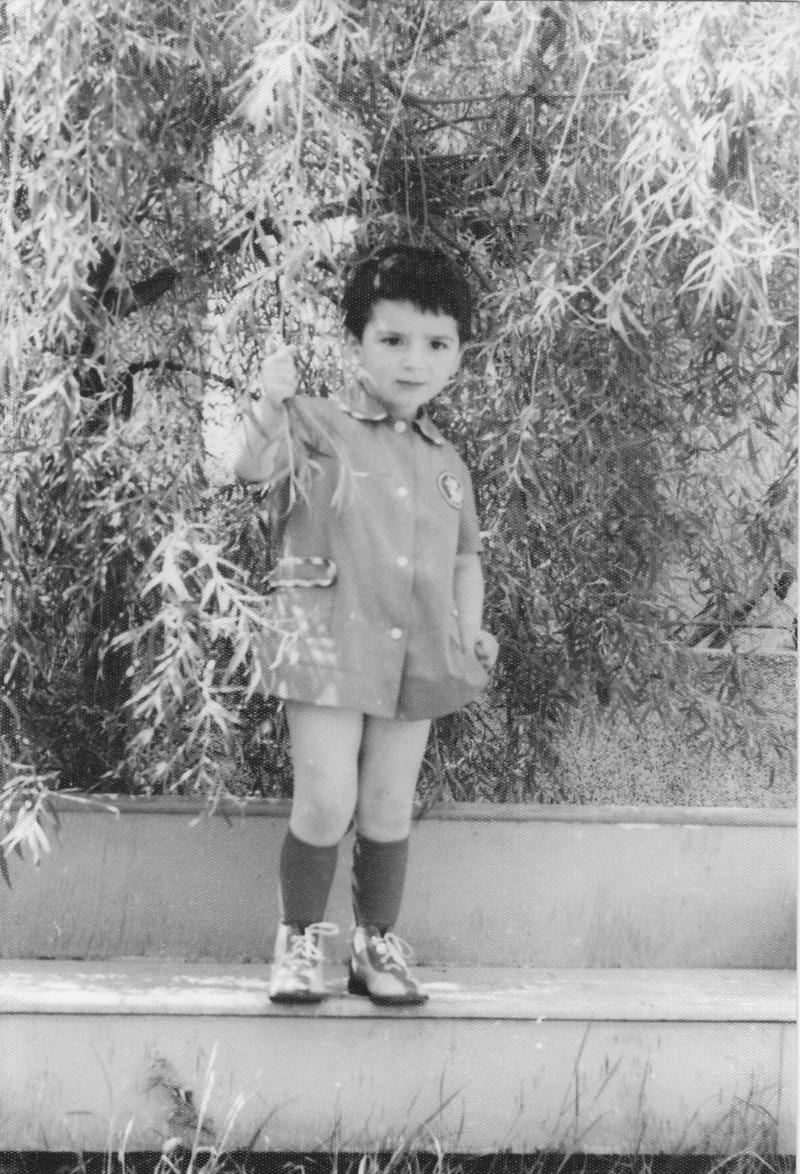 Краси Георгиев като дете