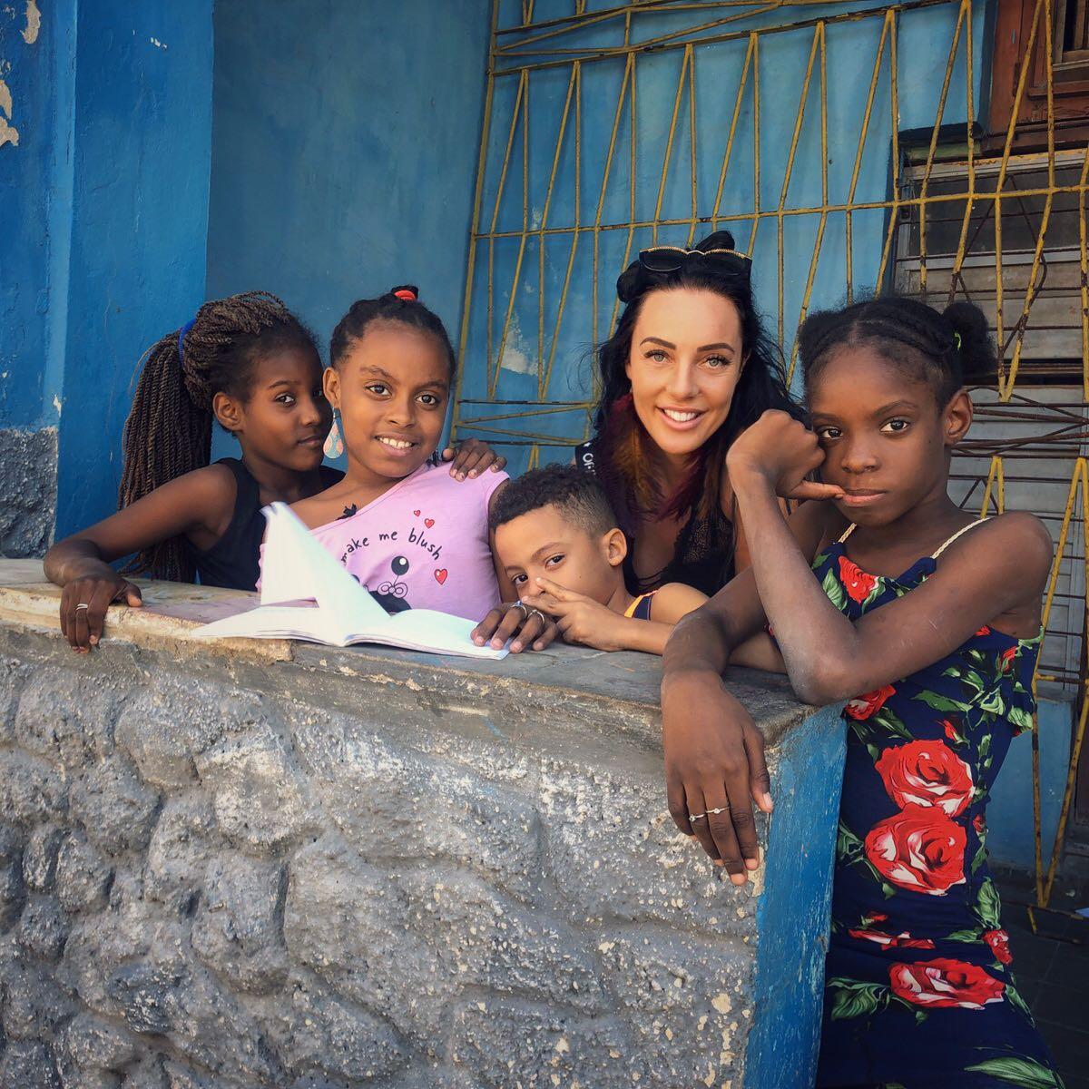 Ина Димитрова с деца