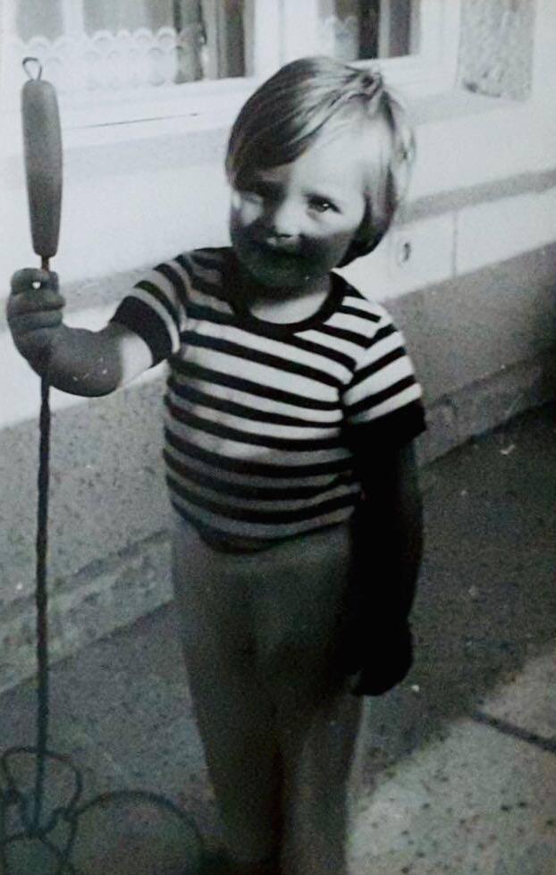 Ина Димитрова детска снимка
