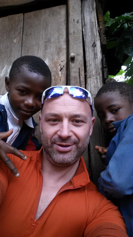 Краси Георгиев с деца
