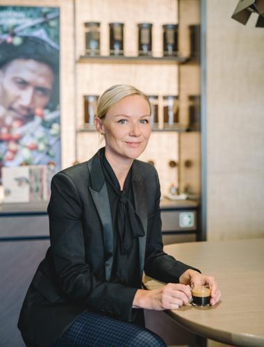 Анна Лундстром, главен бранд директор.
