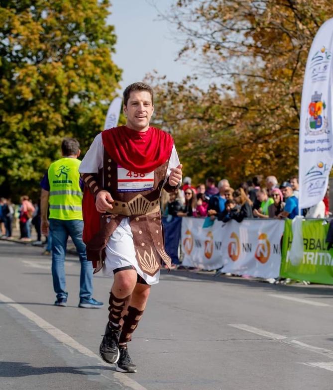 Григор Върбанов на wizz air София маратон