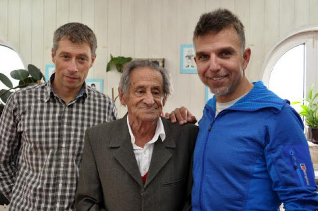 Трима големи алпинисти - Дойчин,Джиджи и Боян