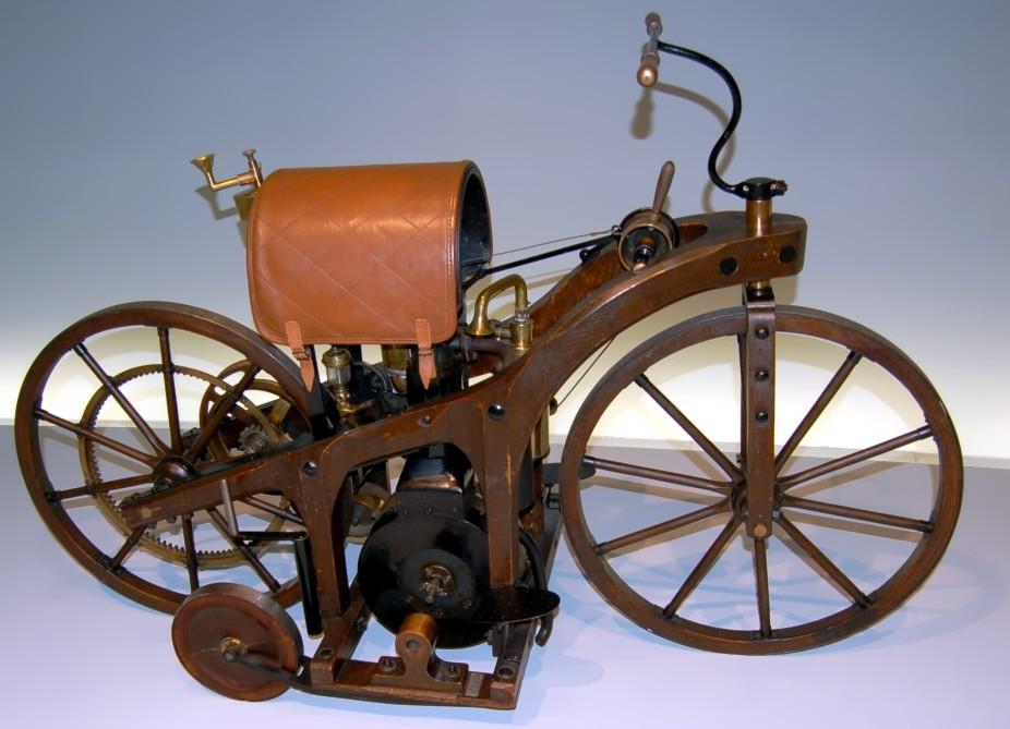 Патент № 36423 от 1885 г. за мотоциклета на Даймлер
